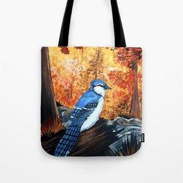 Blue Jay Life Tote Bag