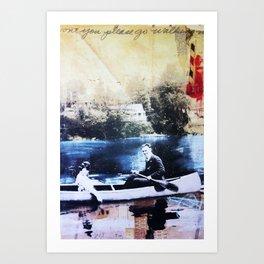 """Won't You Go Walking""  Art Print"