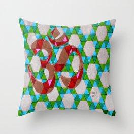 OM #1 Throw Pillow