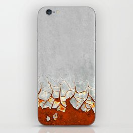 Rust and Grey iPhone Skin