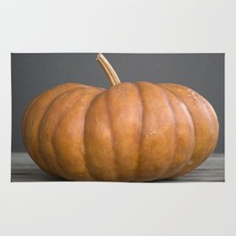 """Cinderella"" Pumpkin no. 1 -- Still Life Squashes & Potirons Rug"