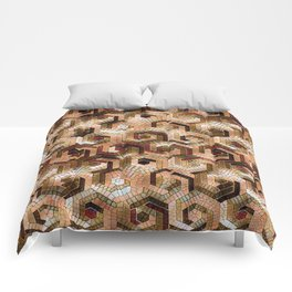 Pattern Factory 23 brown Comforters