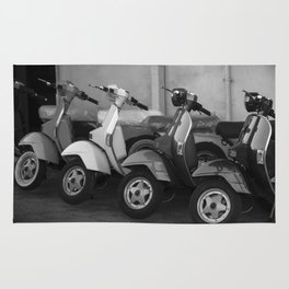 4 Scooters Rug