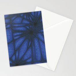 Stained Glass Web Stationery Cards