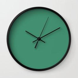 Solid Jade Wall Clock