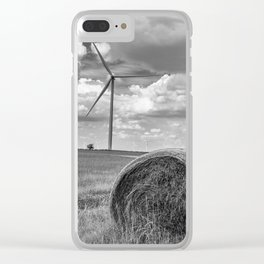 Country Wind Turbine Clear iPhone Case