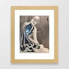Inward universe Framed Art Print