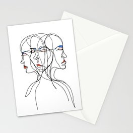 Conflicted Identity Stationery Cards