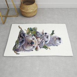 Sea Otter Trio Rug