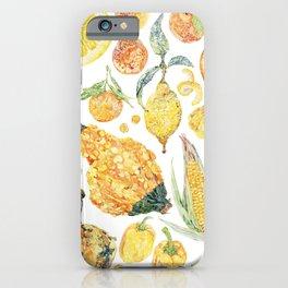 Harvest of Yellow iPhone Case