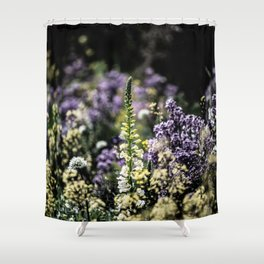 Flower Photography by james shepperdley Shower Curtain