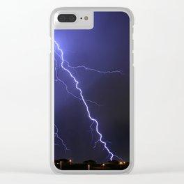 Salt Lake Lightning Clear iPhone Case