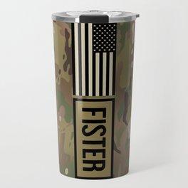 Fister (Camo) Travel Mug