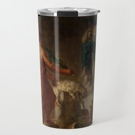 "Eugène Delacroix ""Lycurgus Consulting the Pythia"" Travel Mug"