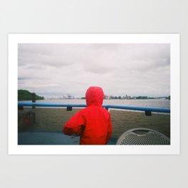 Small Sailorsman Art Print