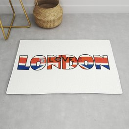 Illustration of London, Uk Rug