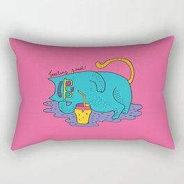 fatty cat Rectangular Pillow