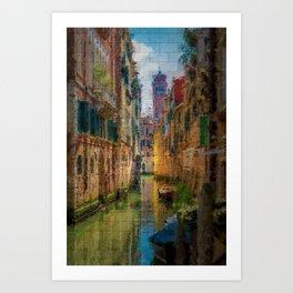 Italian Graffiti - Venice Art Print