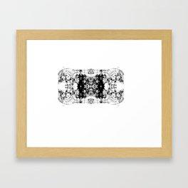 discourse Framed Art Print