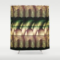 theater Shower Curtains featuring In the Theater  by Truly Juel