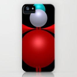 3 colors, 3 dimensions iPhone Case