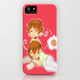 The Macaroni Brothers iPhone Case