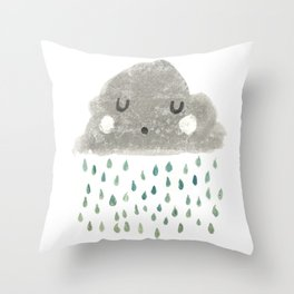 Moghrey Mie Fliaghey Throw Pillow