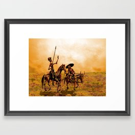 a Rumbo del Viento (On the Path of the Winds) Framed Art Print