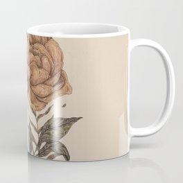 Peony and Ferns Coffee Mug