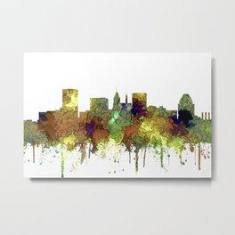 Baltimore, Maryland Skyline - SG - Safari Buff Metal Print