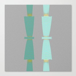 Two Totems Canvas Print