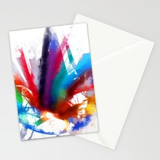 Dancing Peacock  Stationery Cards