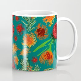 Beautiful Australian Native Floral Print Coffee Mug