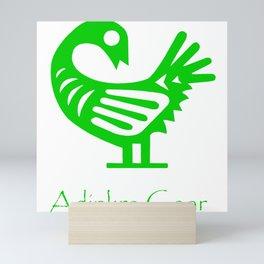 Sankofa Green Mini Art Print