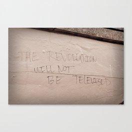 The Revolution Canvas Print