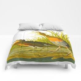 Salt Water Marsh Hen Comforters