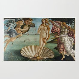 The Birth of Venus Rug