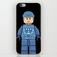 tron iPhone & iPod Skins featuring Tron Lego by Ant Atomic