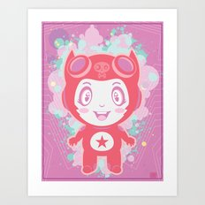 Bubbly! Art Print