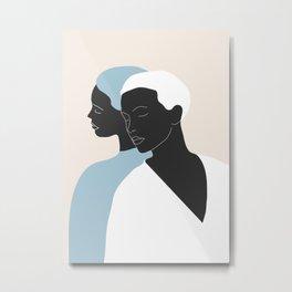 reflection - the mirror Metal Print