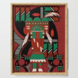 Visions Of Hopi Serving Tray