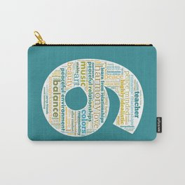 Life Path 6 (color background) Carry-All Pouch