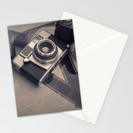 Vintage Camera and Film III Stationery Cards