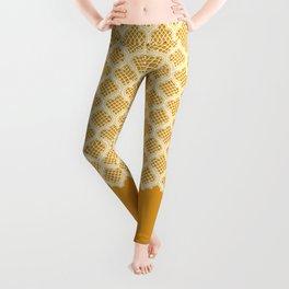 Harem Window (Amber Gold) Leggings