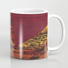 Corner Splatter # 7 Coffee Mug