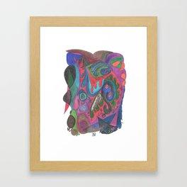 Drawing #54 Framed Art Print