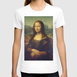 Classic Art - Mona Lisa - Leonardo da Vinci T-shirt