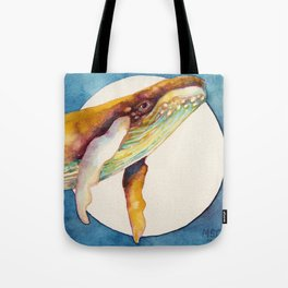 Humpback Sunrise Tote Bag