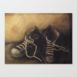 kicks Canvas Print