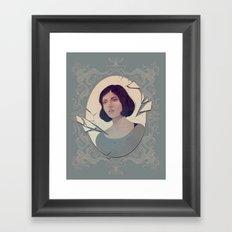 Falter  Framed Art Print